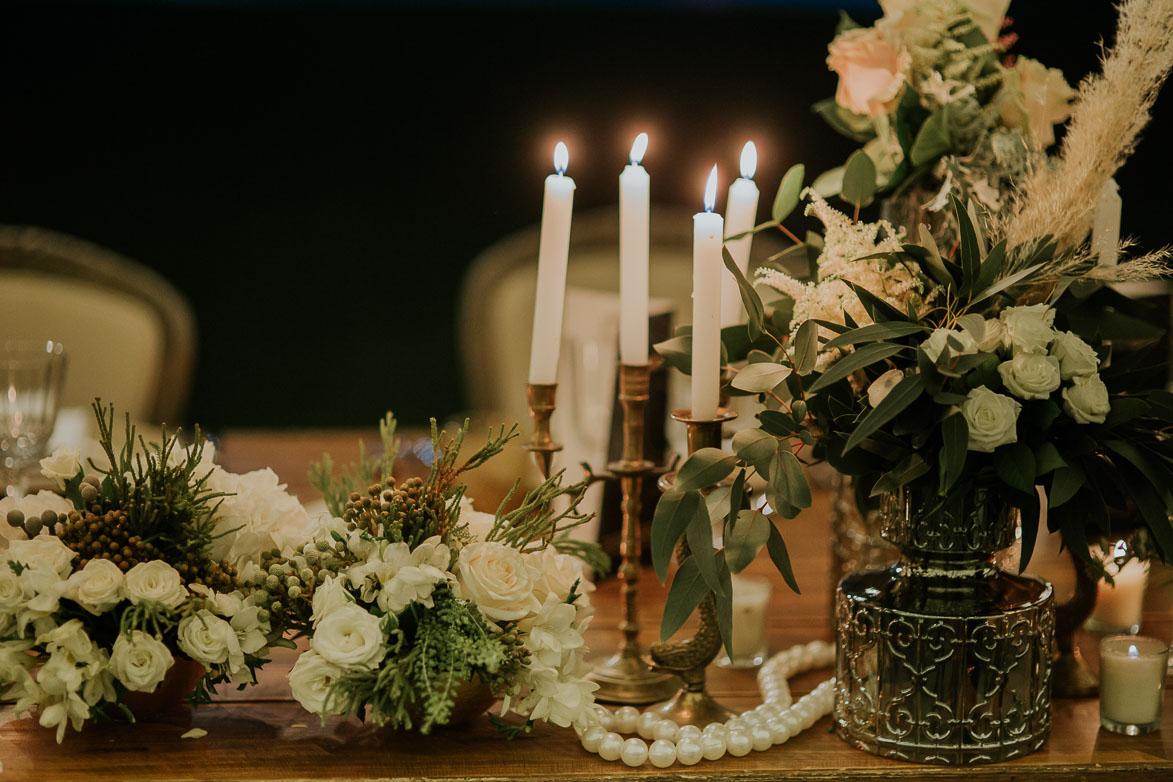 Decoración de Boda Años 20 AriannaPe Wedding Planner