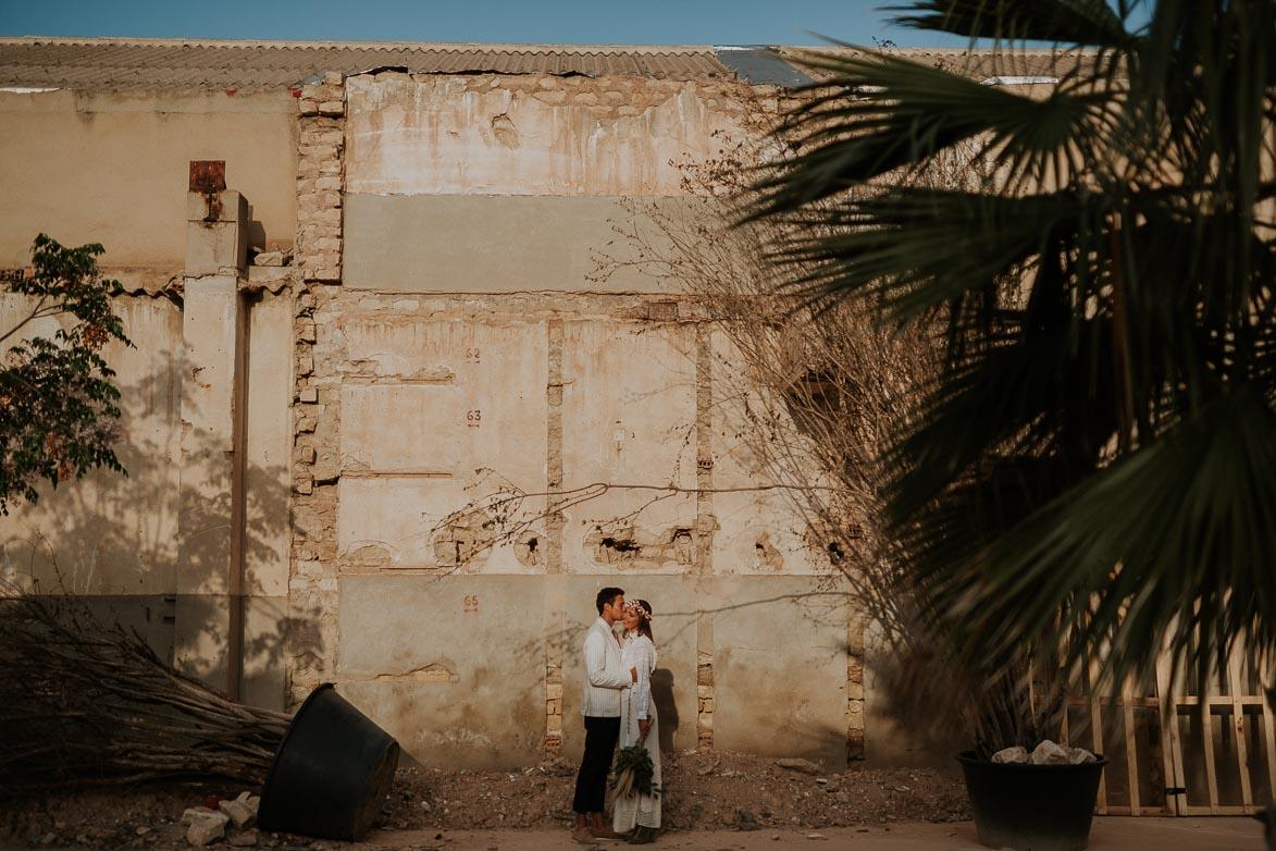 Fotos Fotografos Bodas Nave Industrial La Fundicion Alicante