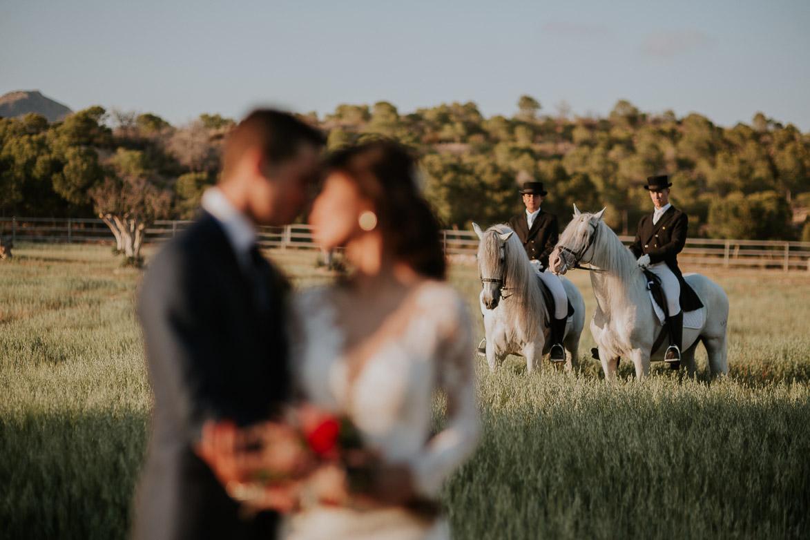 Fotografos de Bodas en Yeguada La Gloria Rebolledo Alicante