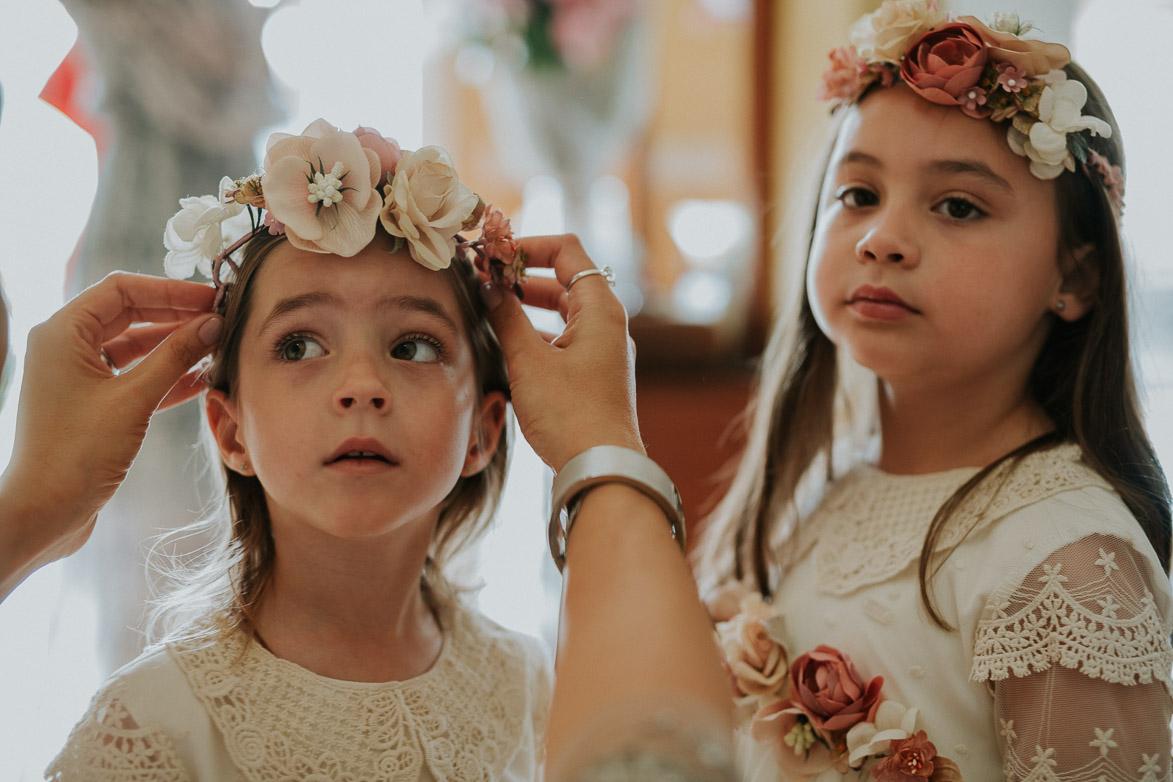 Coronas de Flores para bodas
