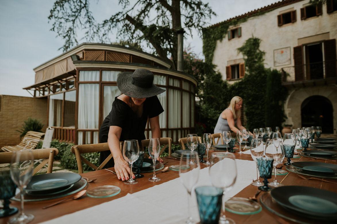 Destination Wedding Mas de Berenguer Canoves Barcelona