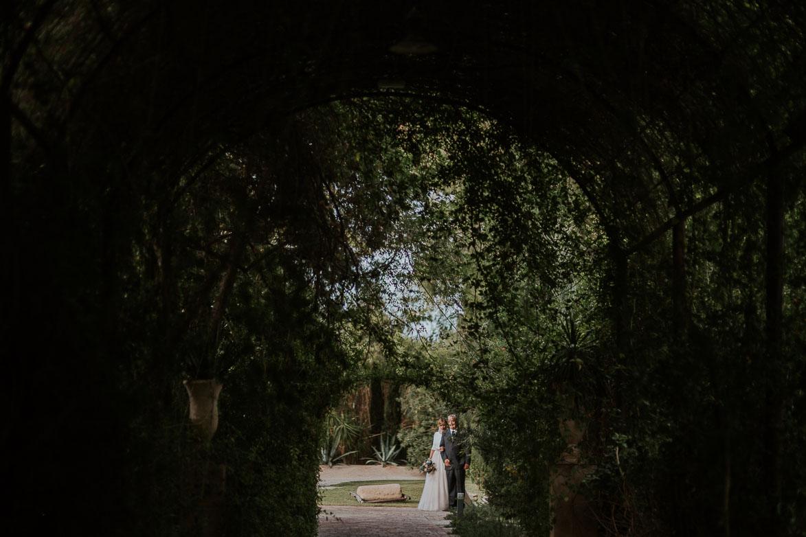 Boda en Pergola de Jardines de Abril Alicante