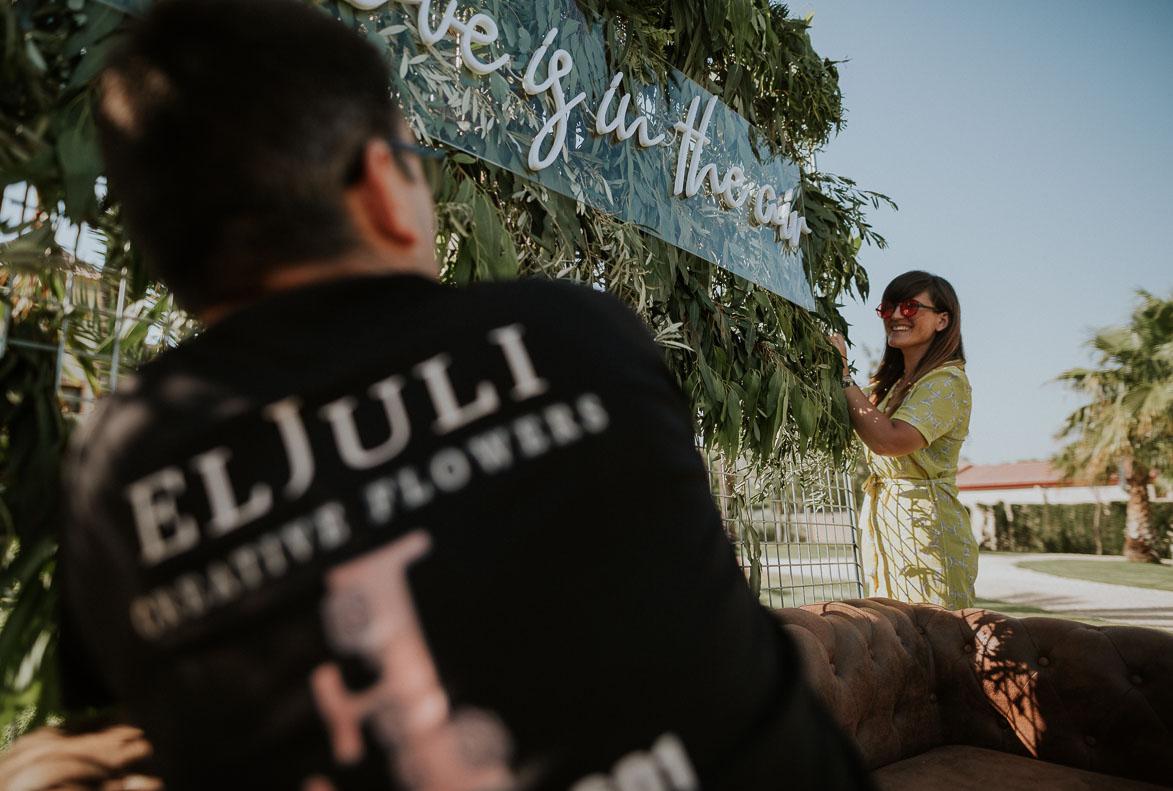 Decoración SeatingPlan WeddingPlanner AriannaPe y el Juli Flores