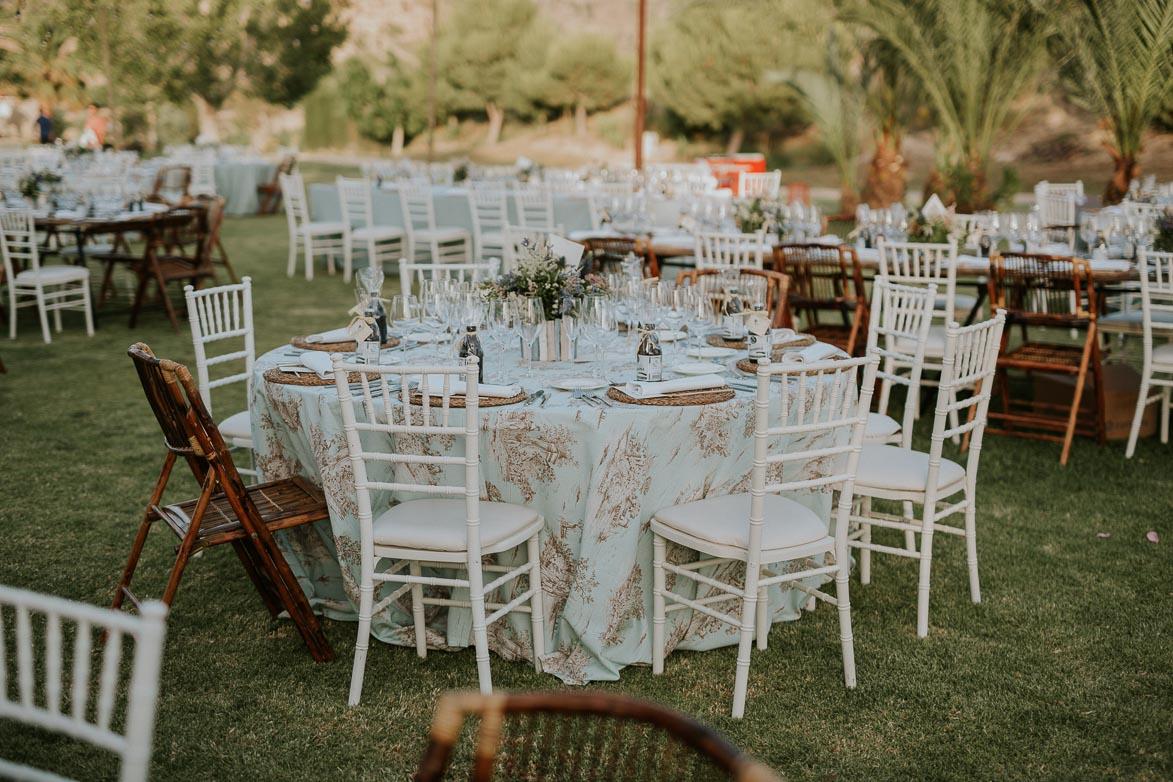 Decoración y Mantelería para Bodas Civiles Yeguada La Gloria Wedding Spain
