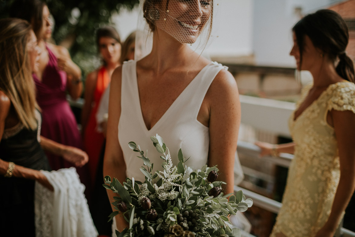 Vestido de Novia Helena Mareque Atelier