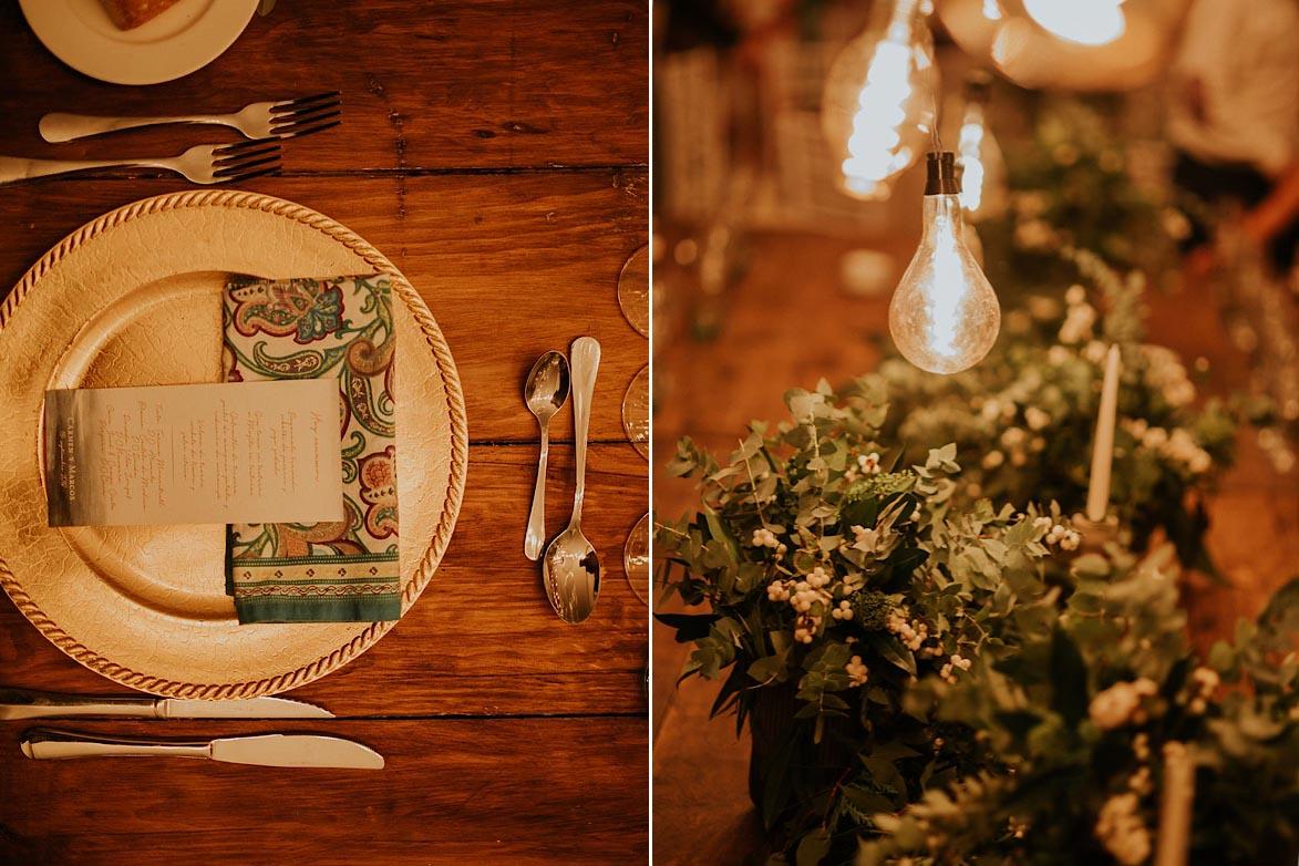 Menaje y decoracion para Bodas