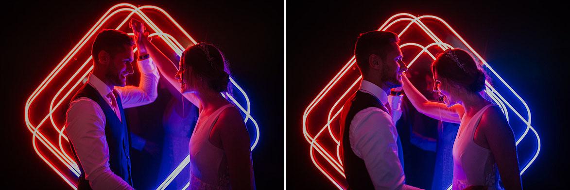 lightsandwires Neones para Bodas Photocall