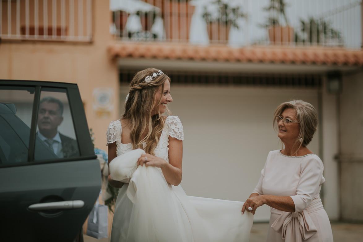 Vestido de Novia Cayetana Ferrer Atelier Murcia