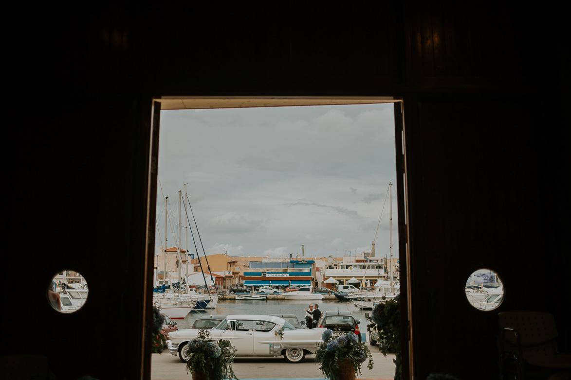 Fotografos Bodas Collados Beach Iglesia Cabo de Palos