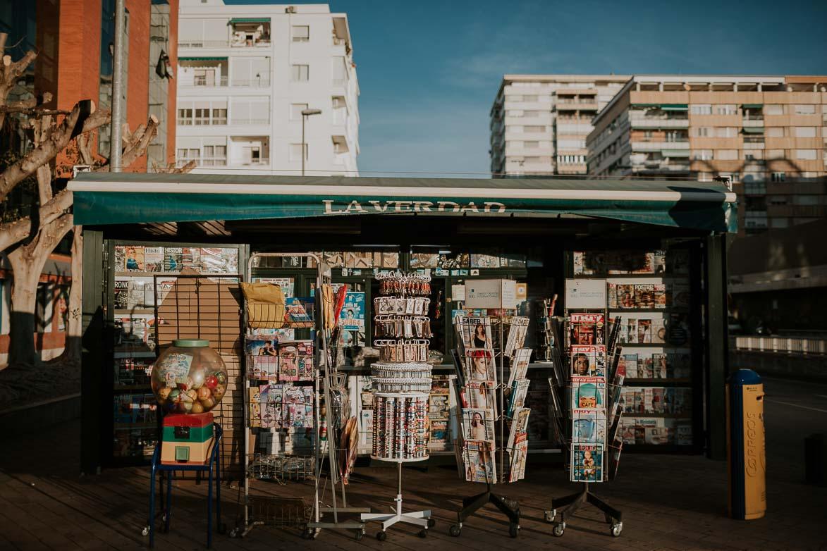 Kiosco de Prensa La Verdad Murcia