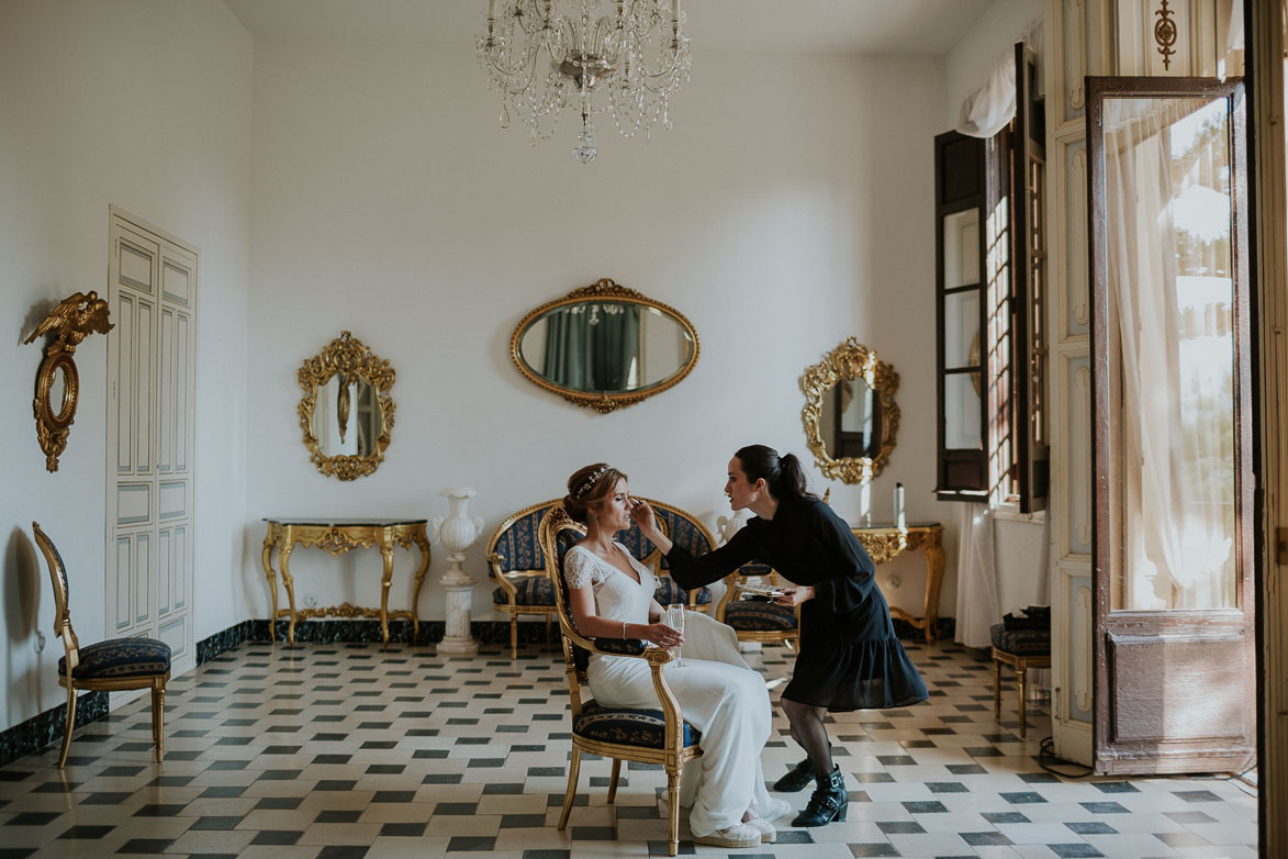 Maquilladora de Bodas Raquel Castillo