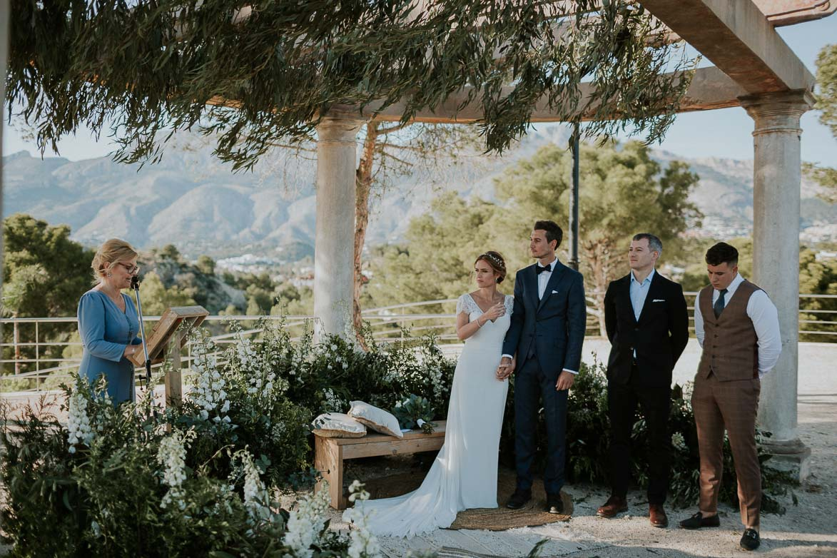 Destination Wedding Marques de Montemolar Altea Spain