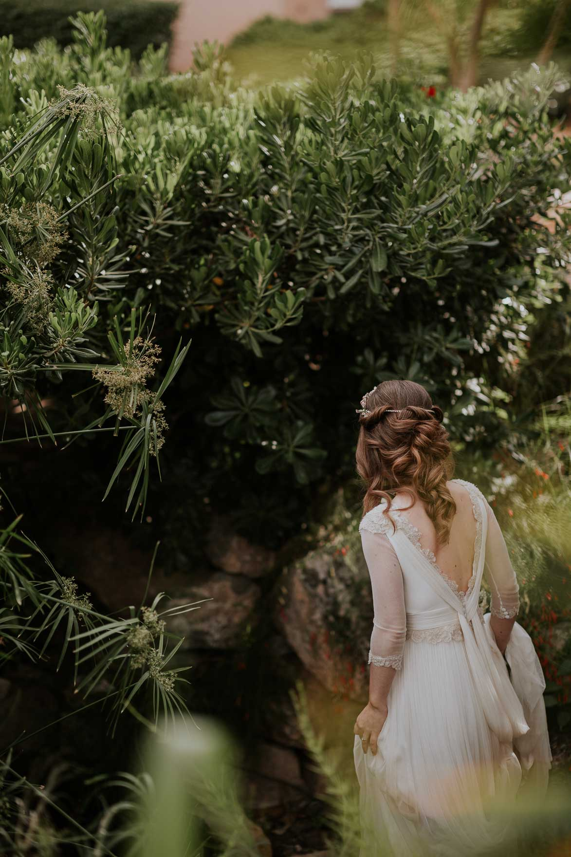 Vestido de Novia Jesus Peiro Isabel Barba Murcia