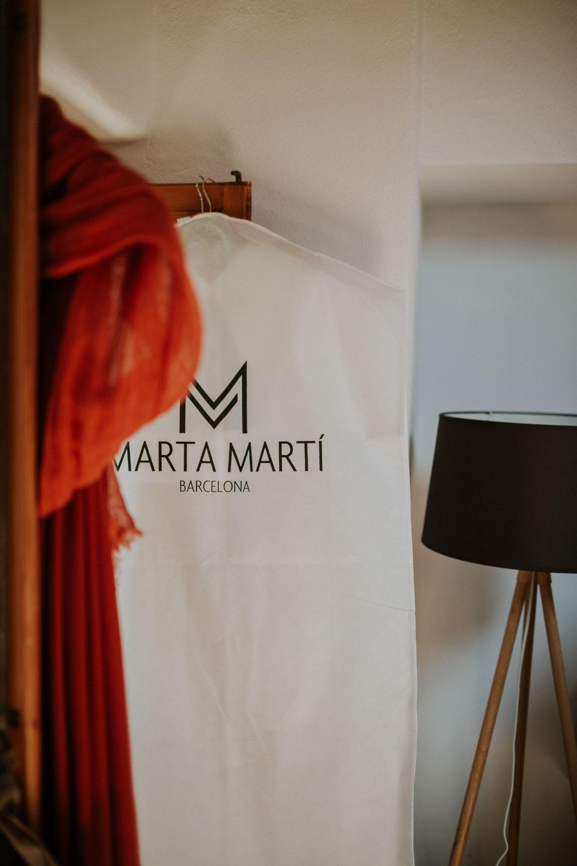 Traje de Novia Marta Martí