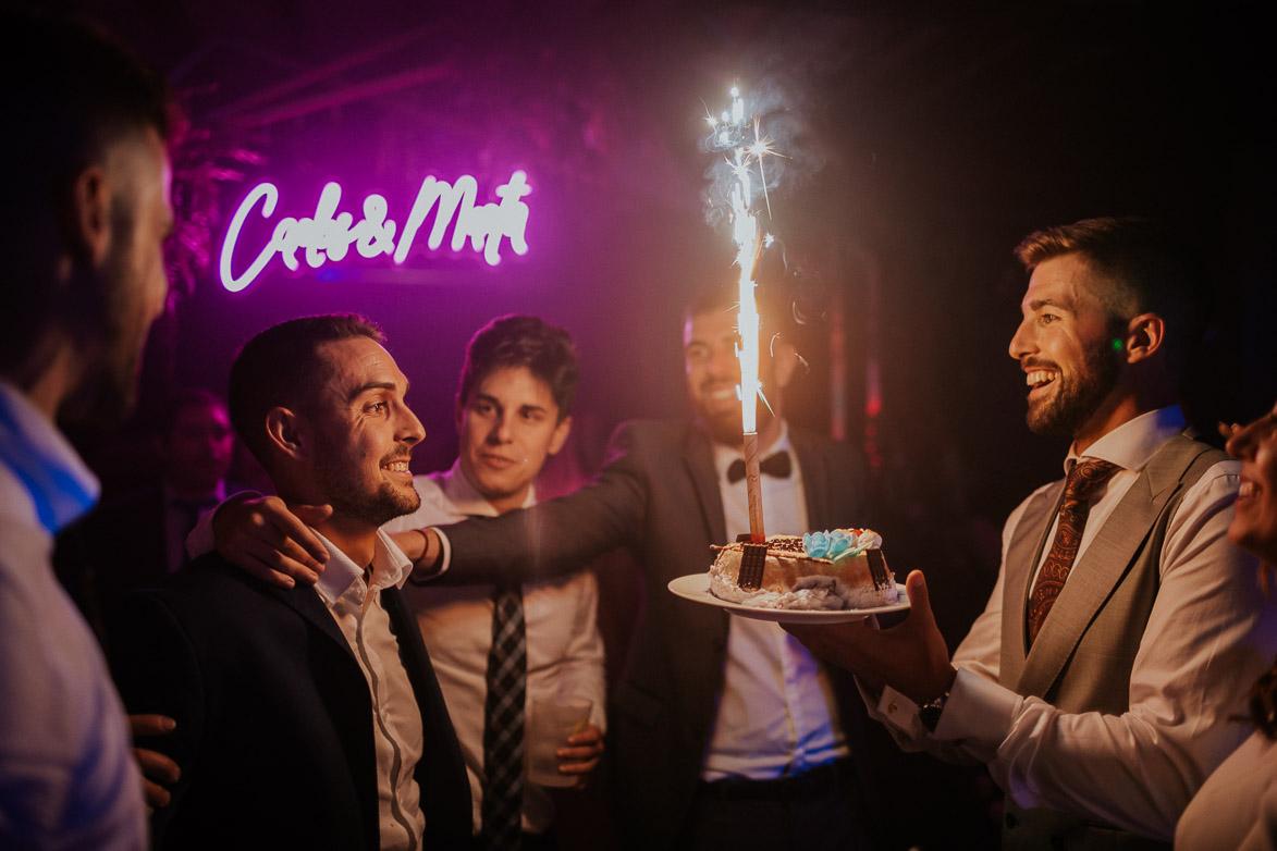 Tarta de Cumpleaños en Bodas
