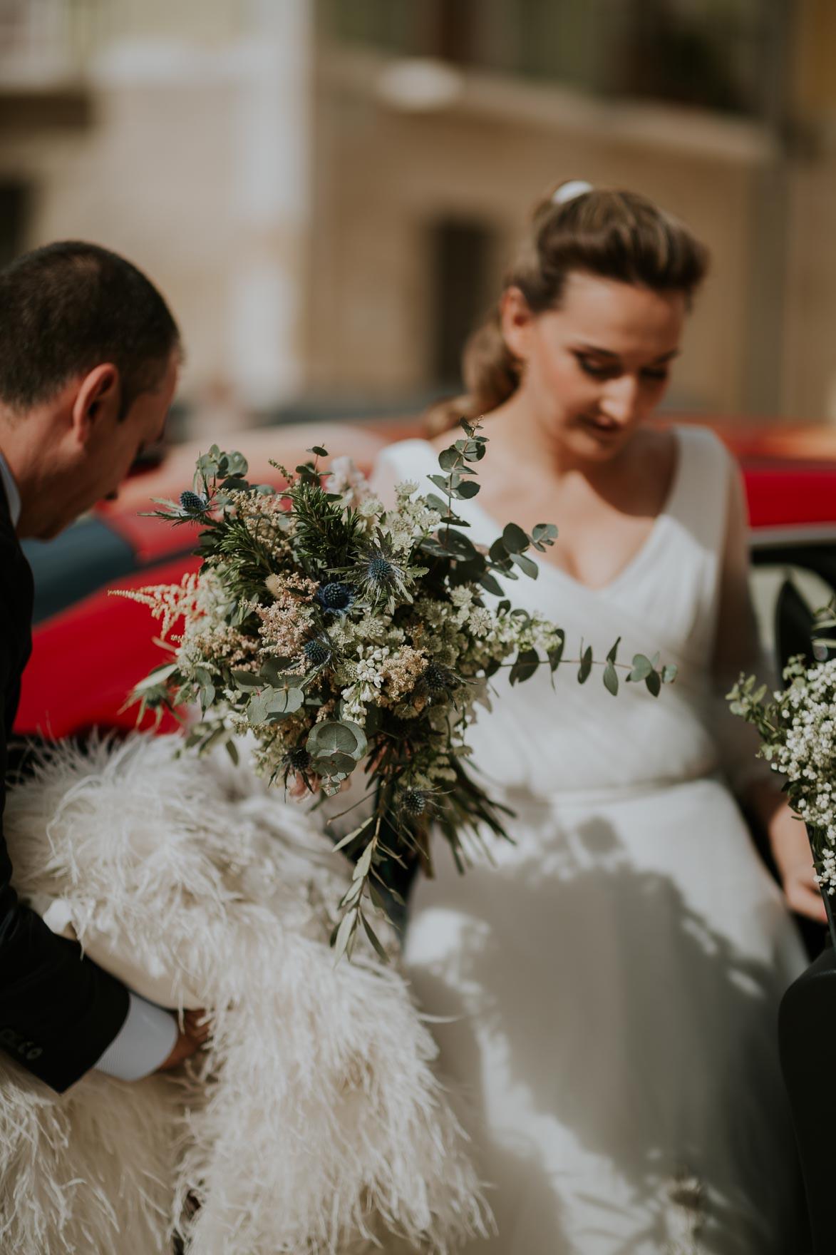 métodos de conservación de un ramo de novia