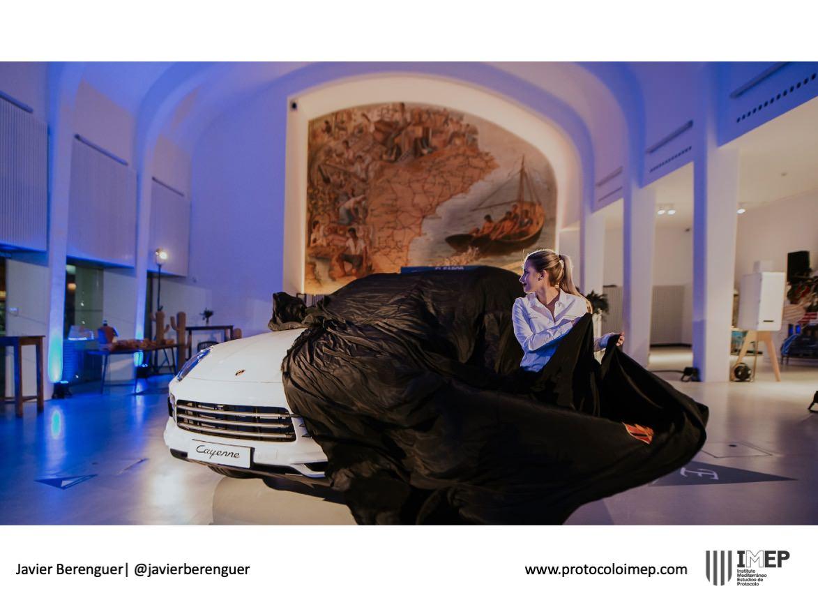 Fotografía ejemplo Evento Presentación Producto Porsche