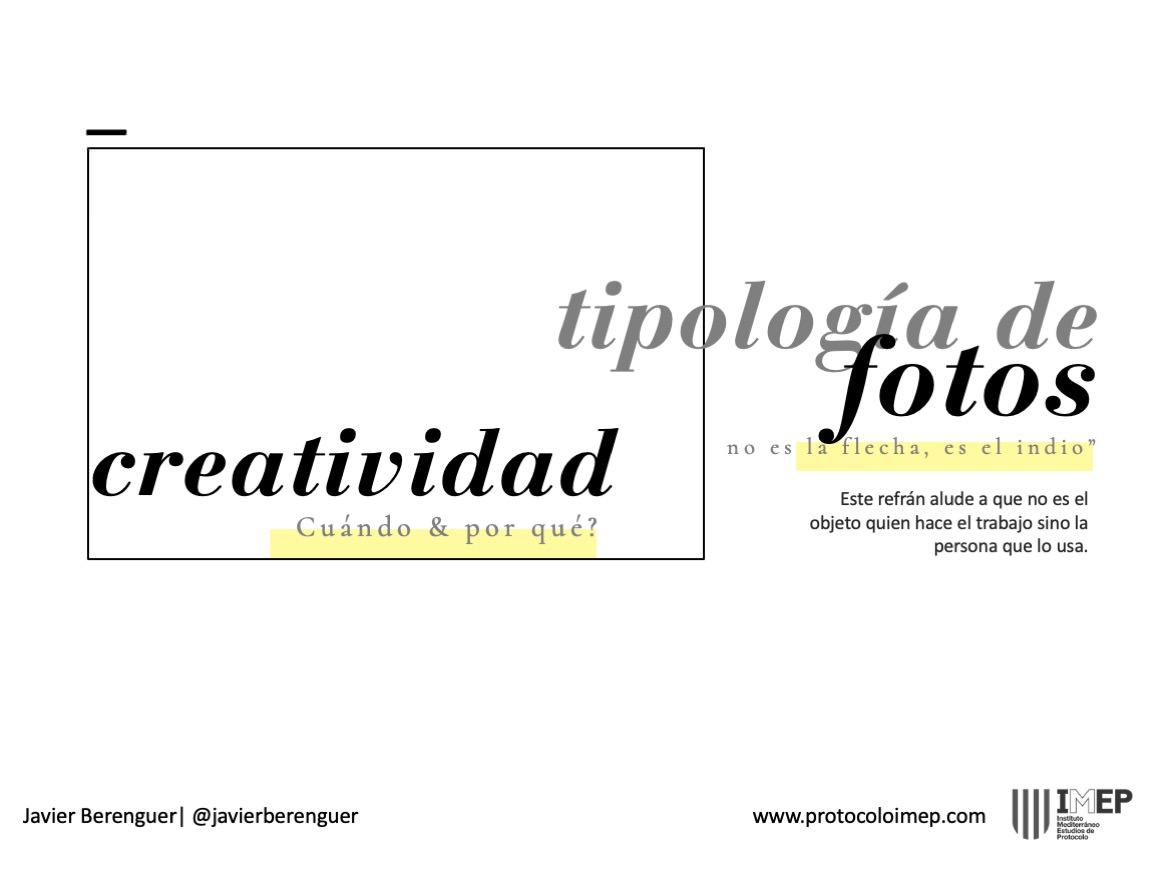 Tipologia de fotos