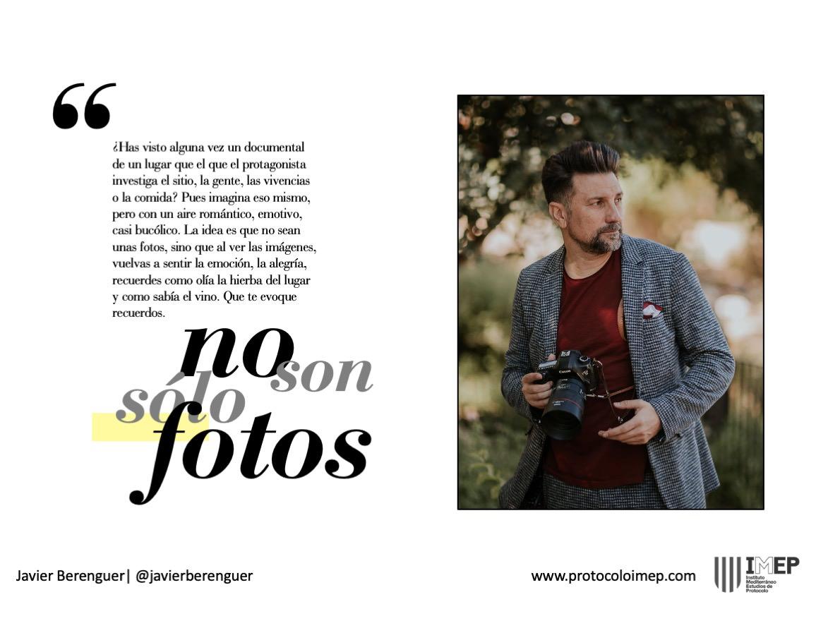 Tips para fotografía de eventos corporativos Javier Berenguer