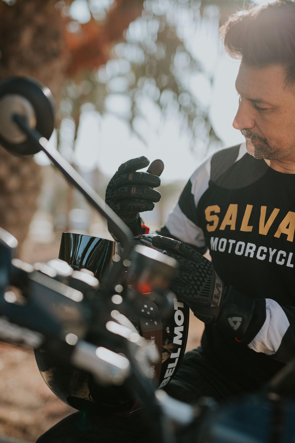 Triumph Salvage Motorcycles Revit Sand 3 Moto Center Levante