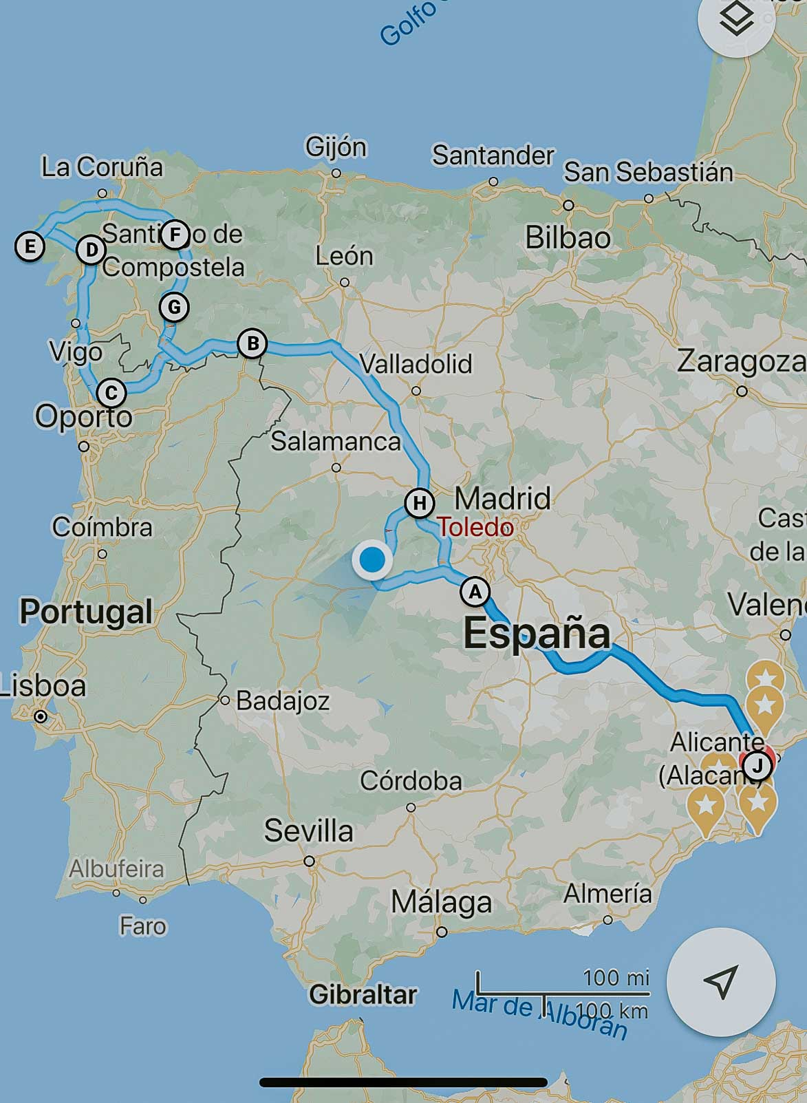 Triumph Scrambler Galicia Cañon del Sil Sierra de Gredos