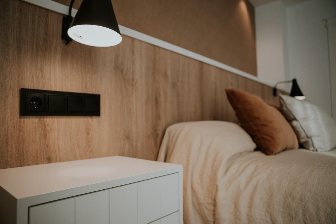 Lamparas de lectura para habitaciones minimalistas