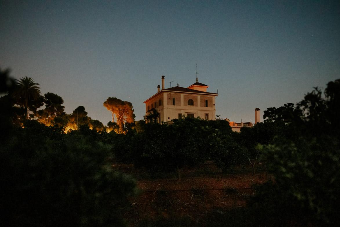 Huerto de San Vicente de Noche