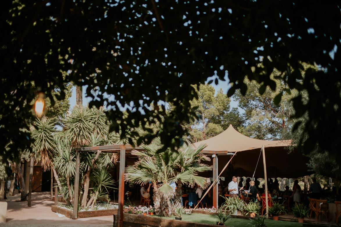 Carpa Beduina en Finca Casa Luna Alicante