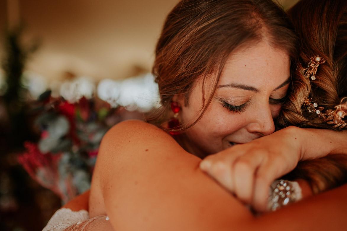 Entrega de ramos boda