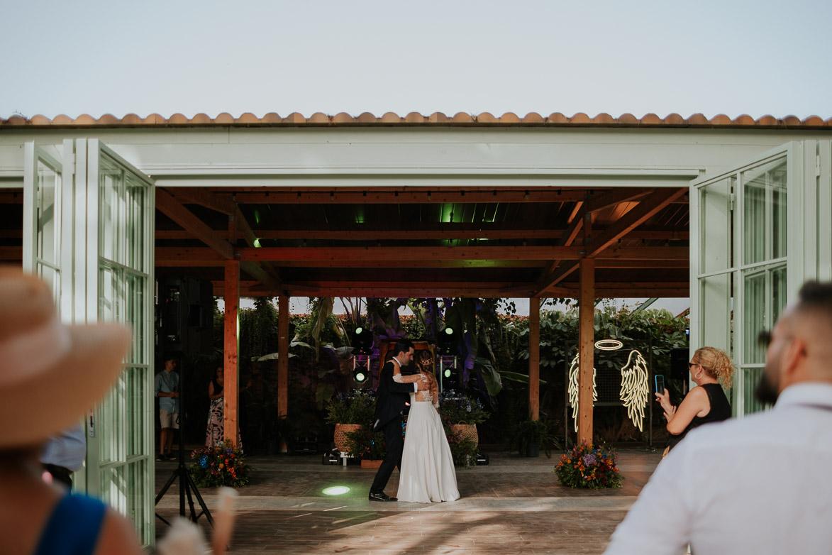 Baile Novios en Finca Casa Luna