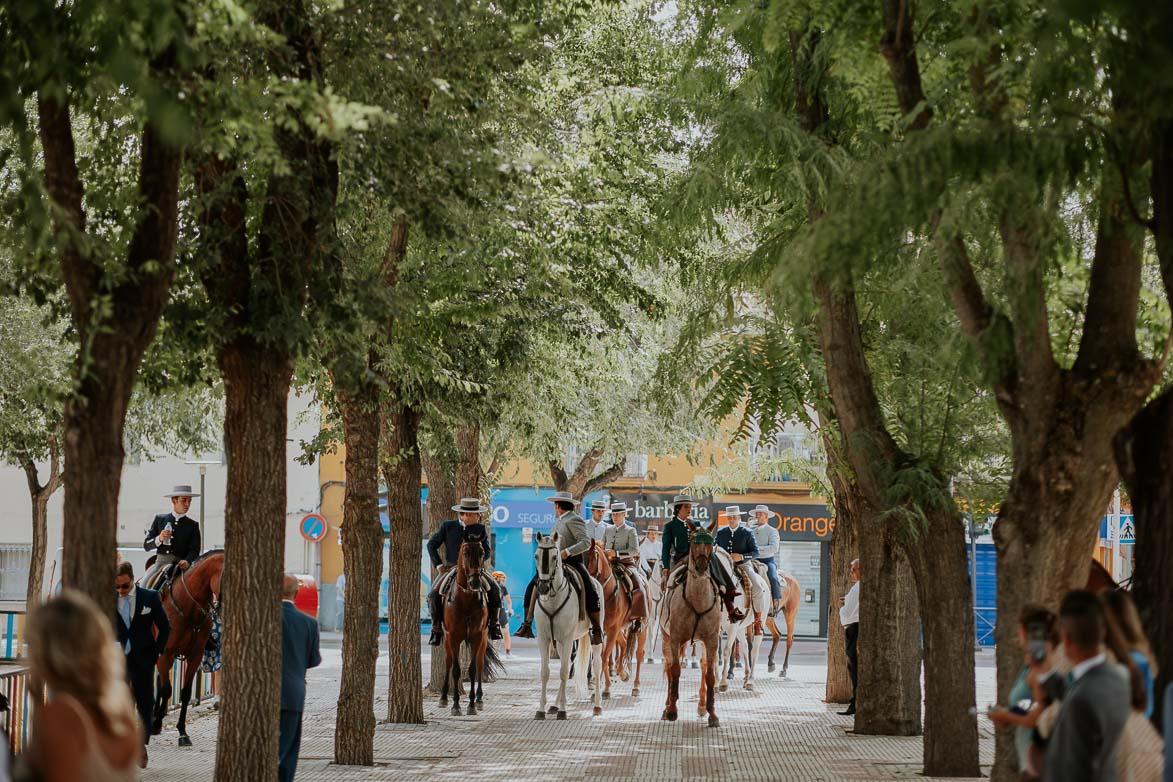 Boda con Caballos San Martin de La Vega
