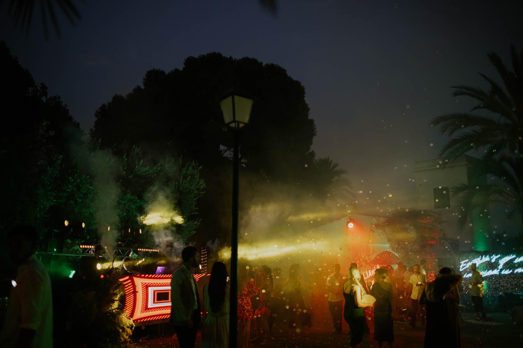 Fiesta de Noche en Bodas