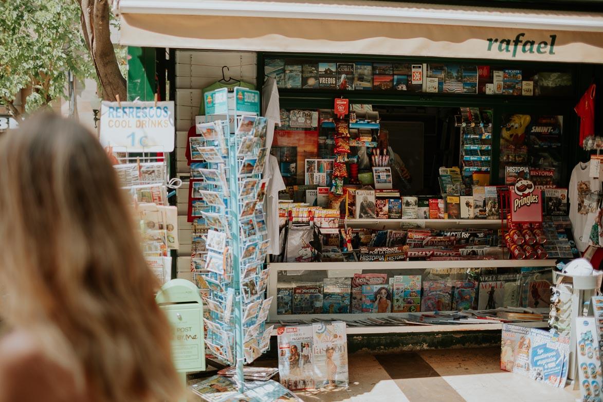 Quiosco de prensa Alicante