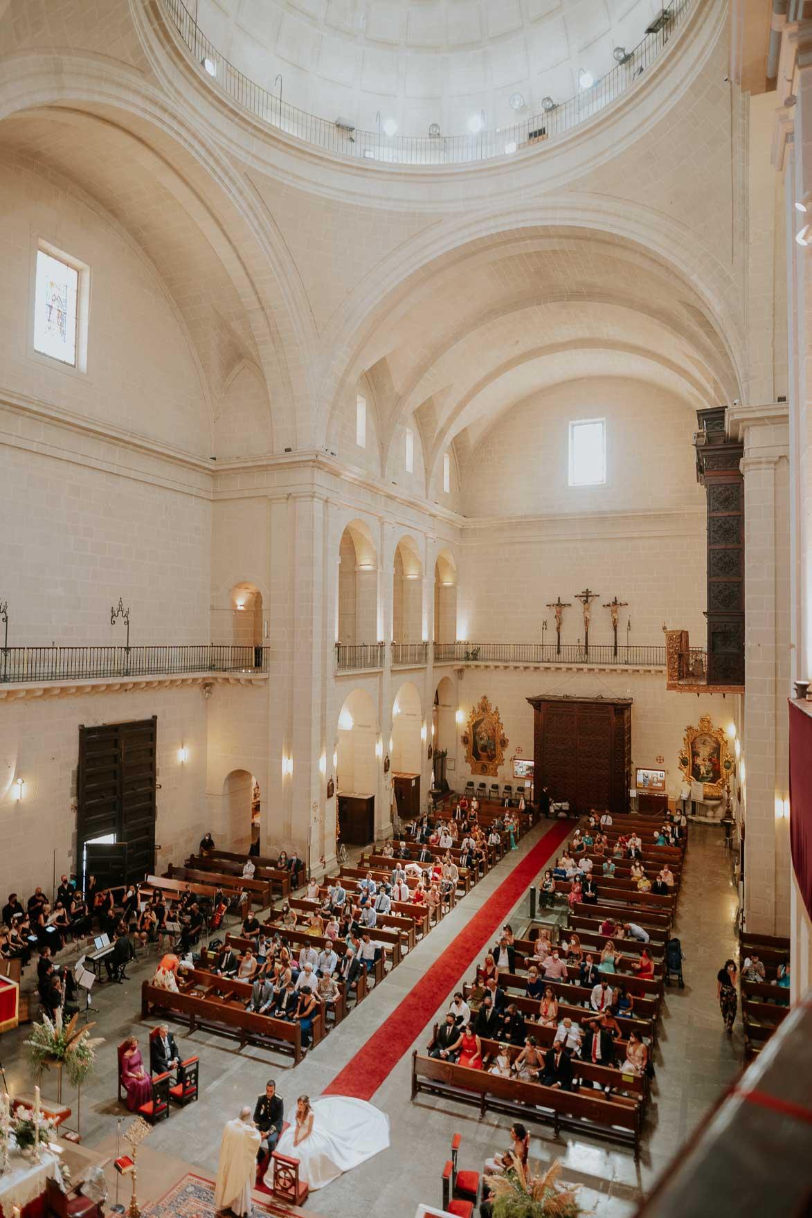 Fotos de Boda en Concatedral de San Nicolas Alicante