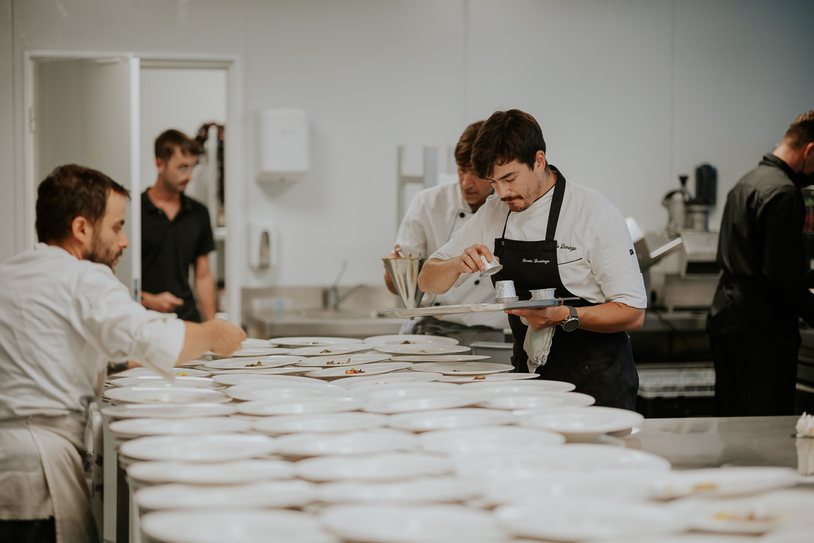 Cocina de Lamarr Murri