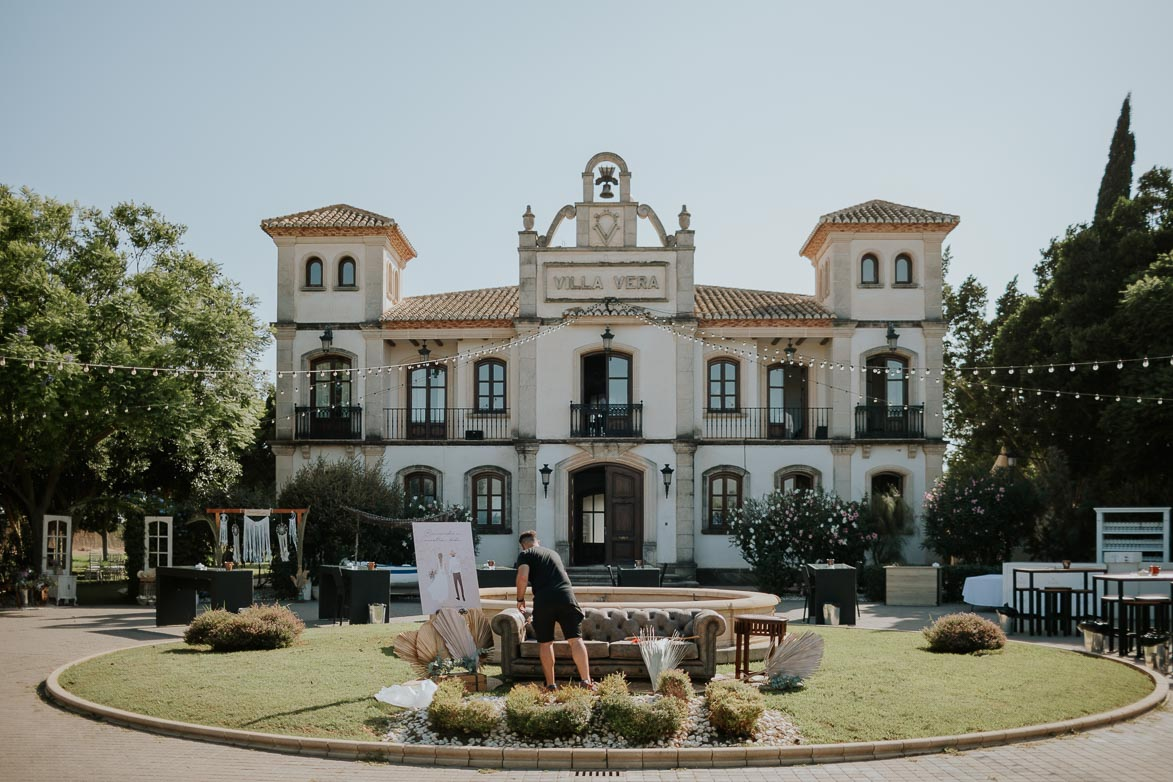 Boda Casa La Vuelta Finca Villa Vera