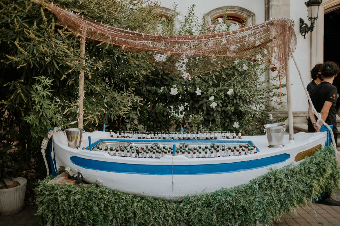 Barca con Ostras