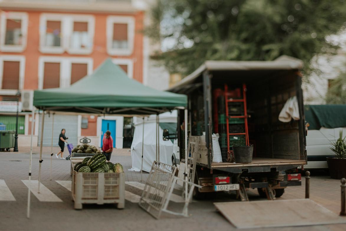 Mercado en Calle Mayor de Sisante