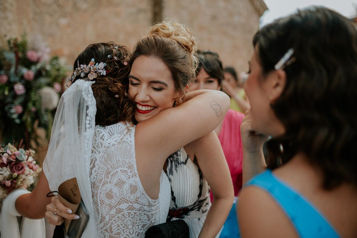 Abrazo a Joaquina Amiga de la Novia