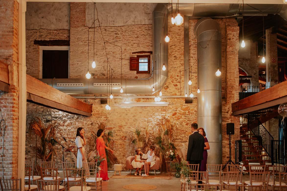 Como decorar una Ceremonia Civil en Moli Nou Benifla