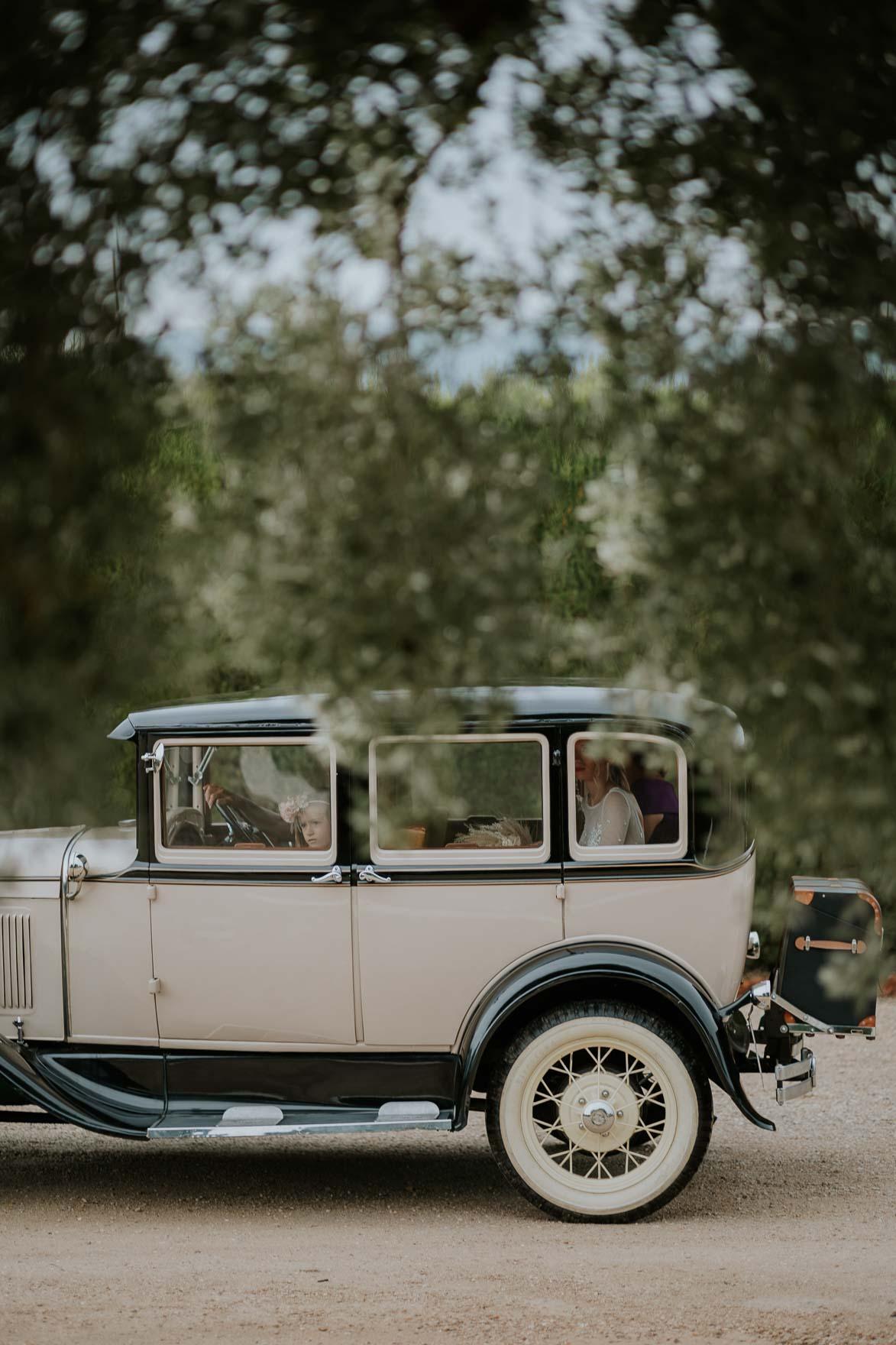 Alquilar un Ford antiguo para Bodas